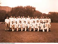 Varsity Blues Football Team, 1949-1950