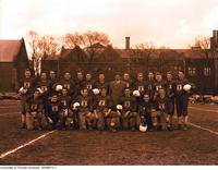 Intramural Men's Football - Junior Meds Team, 1949-1950
