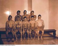 Intramural Men's Swimming - Meds Swimming Team, 1948-1949