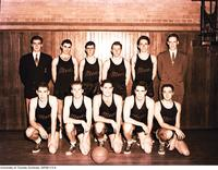 Intramural Men's Basketball - Pre Meds Team, 1951-52, Intramural Finalists