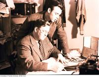 Varsity newspaper staff