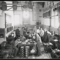 Engineering Building - Group of Students in Electrical Lab