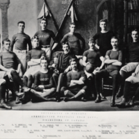 University of Toronto Association Football Team, 1890. (Champions of Canada)