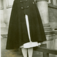 Nora Hanna (Mrs. William Charlton) in Nursing uniform