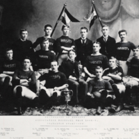 University of Toronto Association Football Team, 1888-89. (Canadian Champions)