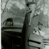 """Goodbye"" - 1952 on retirement - Director Emeritus of Nursing leaving for England"