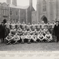 University of Toronto Senior O.R.F.U. Team - 1926
