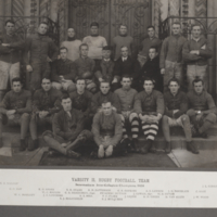 Varsity II. Rugby Football Team, Intermediate Intercollegiate Champions 1908