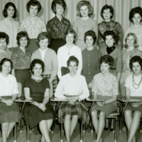 Nursing - Class of 1965,  3rd Year Basic Degree Course