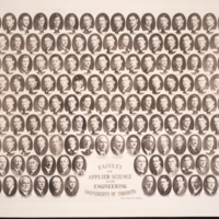 Faculty of Applied Science and Engineerinng, Graduating class portrait, 1927.
