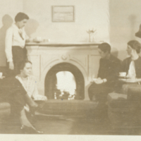 Nursing staff in lounge at 7 Queen's Park