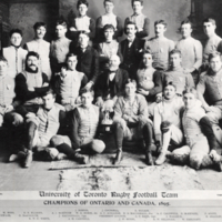 University of Toronto Rugby Football Team, Champions of Ontario and Canada, 1895