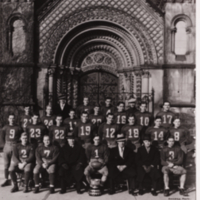 University of Toronto Senior Rugby Team, 1932-33 Intercollegiate Champions - Eastern Finalists