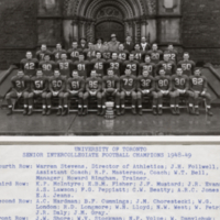 University of Toronto Senior Intercollegiate Football Champions 1948-49