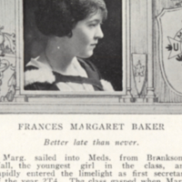 Frances Margaret Baker