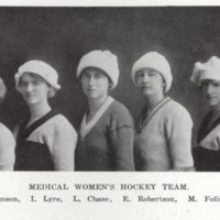 Medical Women's Hockey Team