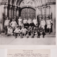 Varsity First Rugby Team. City Champions 1902