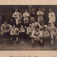 Varsity Rugby F.B.C. 1895. Champions of Canada