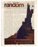 Front page of SAC (Students' Administrative Council) publication, Random, March, 1967