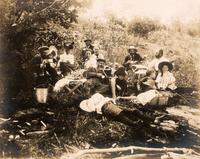 After lunch on Go Home Lake, Aug. 7, 1899,