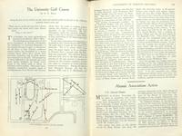 University of Toronto golf course, as depicted in the University of Toronto Monthly, December 1923.