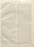 Editorial appearing in the Varsity 9 October 1895, critical of the Commission of Inquiry in the 1895 Student Strike. Page 3