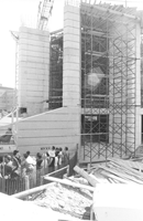 Laying of the cornerstone - Robarts Library complex