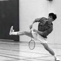 UTM, badminton player