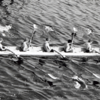 UTM, eight rowers and coxswain in shell