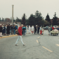 UTM, Bed Race, crowd