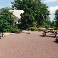 Erindale College (UTM), Colman House, front patio area