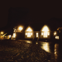 Erindale College (UTM), Colman House, night image