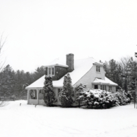 Erindale College (UTM), Artist's Cottage, winter scene