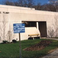 Erindale College (UTM), Central Utilities Plant, entrance