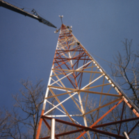 Erindale College (UTM), Central Utilities Plant, work on antenna
