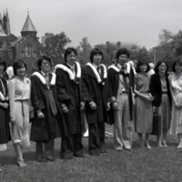 UTM Convocation (1990), graduates