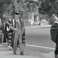 UTM Convocation (June 1989), Chancellor's Procession walk to Convocation Hall