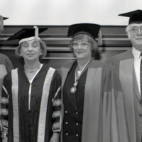 UTM Convocation (June 1992), members of Academic Procession