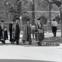 UTM Convocation (June 1988), Chancellor's Procession walk to Convocation Hall