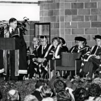 Erindale College (UTM), Installation of Principal Desmond Morton