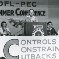 UTM, Desmond Morton at OFL-PEC Summer Conference
