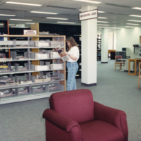 UTM, South Building / Wiliam G. Davis Building, newspaper area
