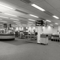 Erindale College Library (UTM), South Building, library