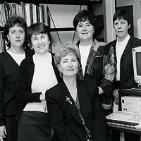 Erindale College, Library Staff picture