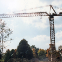 UTM, construction site crane