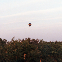 UTM, hot air balloon sighting