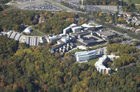 Aerial view of UTSC