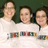Students in UTSC T-shirts for GRADitude Campaign