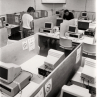 An old computer lab