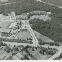 Aerial shot - Scarborough College